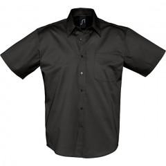 SOL S BROOKLYN, chemise homme, Noir