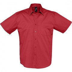 SOL S BROOKLYN, chemise homme, Rouge