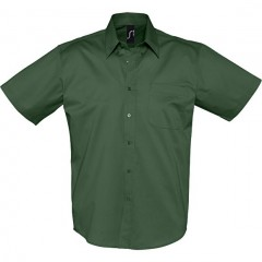 SOL S BROOKLYN, chemise homme, Vert Bouteille