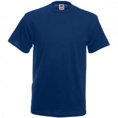 Tee-shirt classique, homme, col rond, Bleu Marine