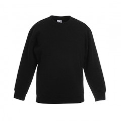 FRUIT OF THE LOOM, sweat enfant, Noir