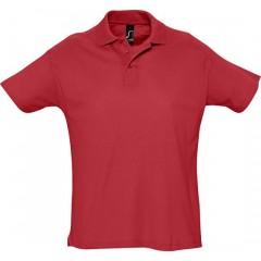 Polo homme, Rouge, manches courtes, classique