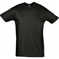 tee-shirt premier prix, Noir, manches courtes