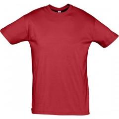 tee-shirt premier prix, Rouge, manches courtes