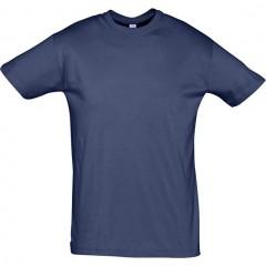 tee-shirt petit prix, Bleu Denim, manches courtes