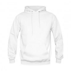 Sweat shirt capuche Kariban, Blanc
