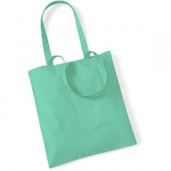 sac de shopping, anses longues, Mint