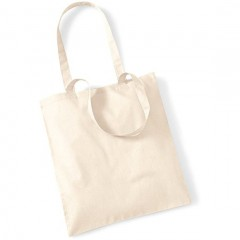 Sac de shopping, anses longues, Naturel